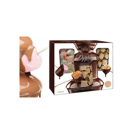 Fondue Chocolate Dipping Set