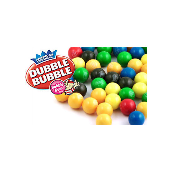 Dubble Bubble Gum Ball Refill Pack