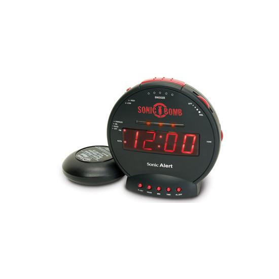 Home, Furniture & DIY Sonic Bomb SBB500SS Loud Alarm Clock