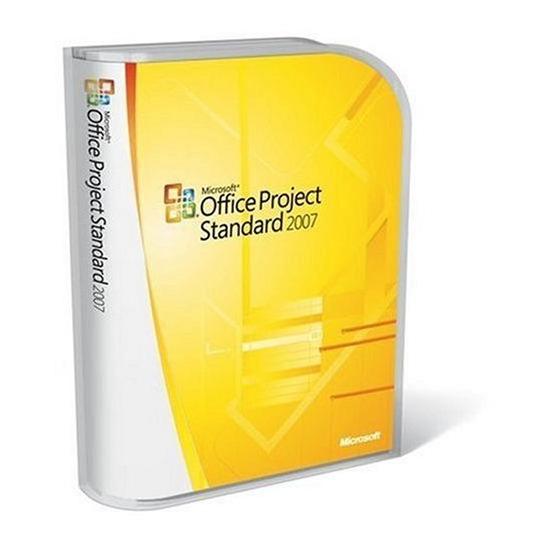 Microsoft Project Standard 2007 (Upgrade)