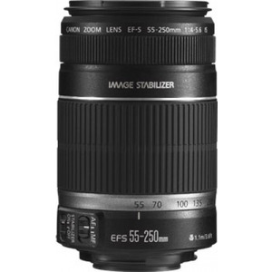 Photo of Canon EF-S 55-250MM F/4-5.6 IS Lens