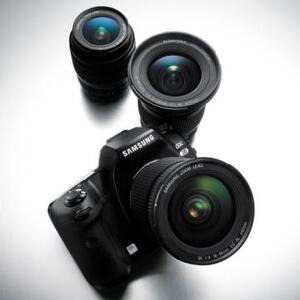 Photo of Samsung GX20 With 18-55MM and 50-200MM Lenses Digital Camera