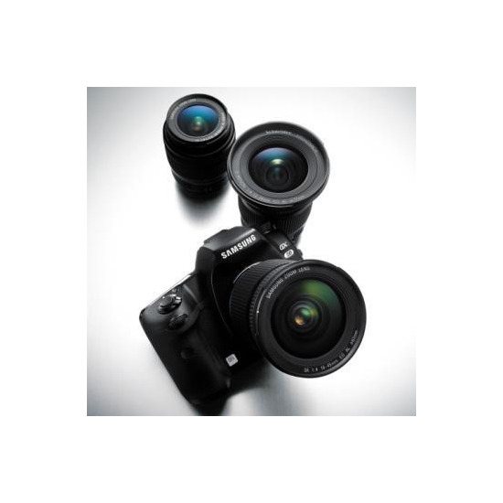 Samsung GX20 with 18-55mm and 50-200mm lenses