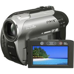 Photo of Sony DCR-DVD410E Camcorder