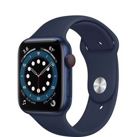 Apple Watch Series 6 GPS + Cellular, 44mm Aluminium Case with Sport Band Reviews