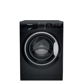 Hotpoint NSWR 843C UK Washing Machine - Black Reviews