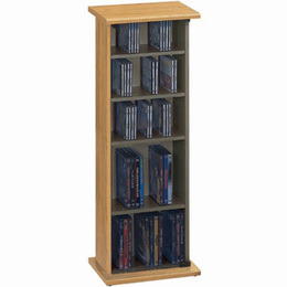 Jahnke CS20-OAK CD & DVD Storage Reviews