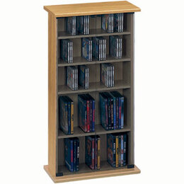 Jahnke CS30-OAK CD & DVD Storage Reviews