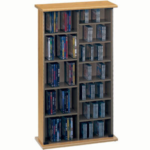 Photo of Jahnke CS40-OAK CD & DVD Storage CD and DVD Storage
