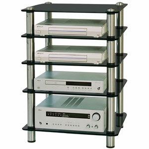 Photo of Optimum Prelude OPT-5000SLB Slimline HiFi Stand Audio Accessory