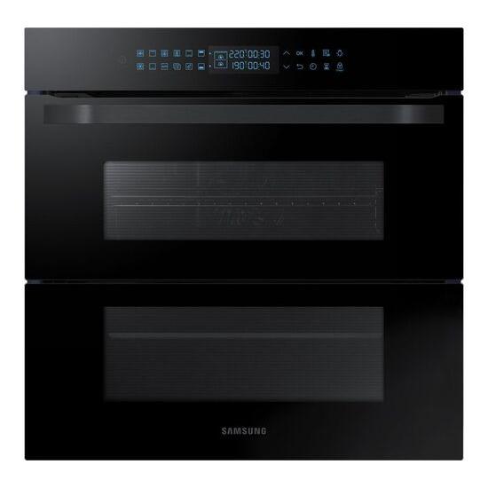 SAMSUNG Dual Cook Flex NV75R7646RB Electric Oven - Black