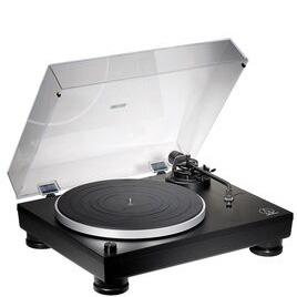 Audio Technica AT-LP5x Fully Manual Direct Drive Turntable Black With Audioengine A5+ Wireless Speaker System Satin Black Reviews