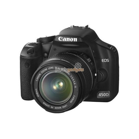 Canon EOS 450D with 18-55mm lens