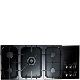 Rangemaster Freestyle Gas Hob Black/Gloss