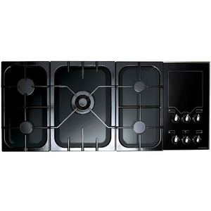 Photo of Rangemaster Freestyle Gas Hob Black/Gloss Cooker