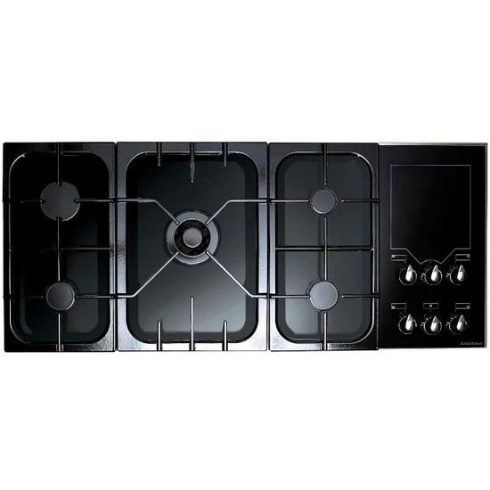 Rangemaster Freestyle Gas Hob Black/Gloss