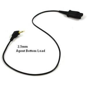 Photo of Agent 2.5MM To Quick Connect Adapter Adaptors and Cable