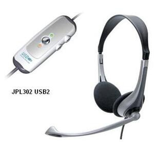 Photo of JPL 302 USB2 Stereo Headset Headphone