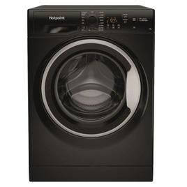 Hotpoint NSWF 743U BS UK N Washing Machine - Black Reviews