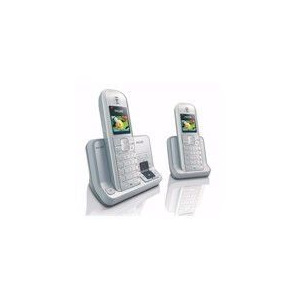 Photo of Twin Dect Phone With Answering Machine Voip Device