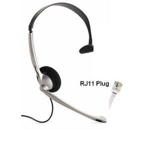 Photo of JPL M110 RJ11 Headset Headset