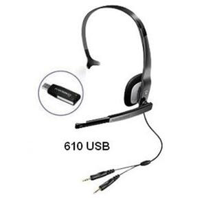 Photo of Plantronics Audio 610 USB Headset Headset