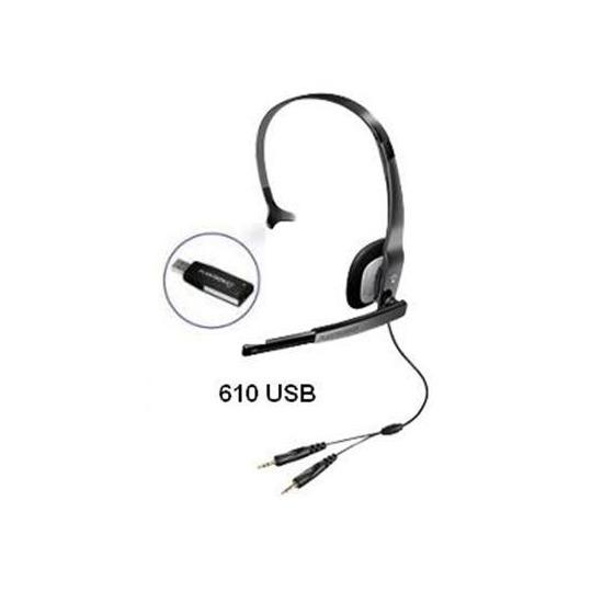 Plantronics Audio 610 USB Headset