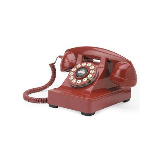 Wild and Wolf Classic Retro 302 Red Phone