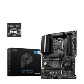 MSI Z590 PRO WIFI LGA1200 Motherboard Reviews