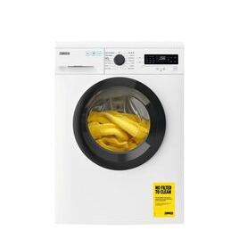 Zanussi ZWF845B4DG 8 kg 1400 Spin Washing Machine - White Reviews