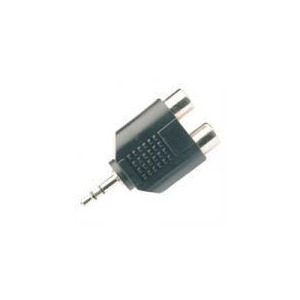 Photo of 3.5MM STEREO JACK PLUG TO 2 X RCA PHONOSOCKETS Adaptors and Cable