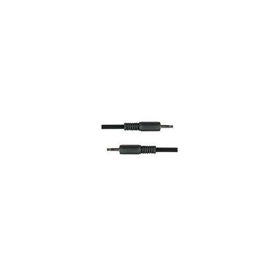 3.5mm STEREO PLUG TO 3.5mm STEREO PLUG CABLE 1.2m