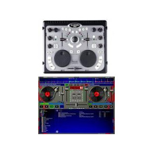 Photo of Hercules DJ Control MP3 USB Mixer MP3 Controller Turntables and Mixing Deck