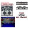 Photo of Hercules DJ Controller MP3 USB Mixer MK2 PC Edition Turntables and Mixing Deck