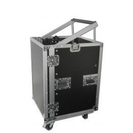 DJKITKASE 16U Slant Top Rack Case with Wheels Reviews