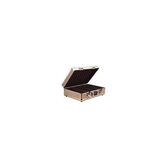 Silver High Quality Euro Style CD Case Which Holds 150 CDs