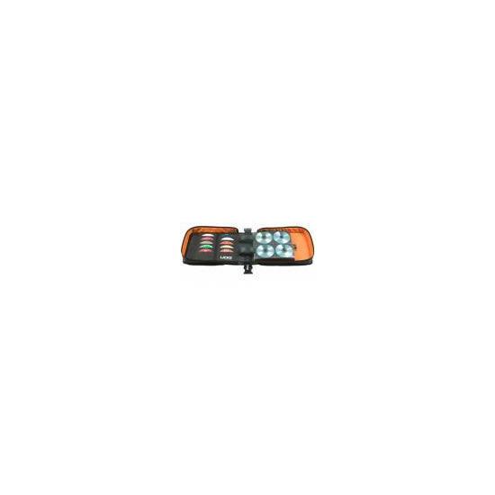 UDG CD SlingBag 258 Black  Orange Inside