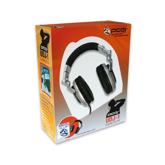 PCDJ UDJ 1 USB Headphones