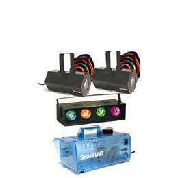 2 x Soundlab Vasto, 4 Way Light and Smoke Machine Reviews