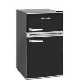 Montpellier Retro MAB2035K Undercounter Fridge Freezer - Black Reviews