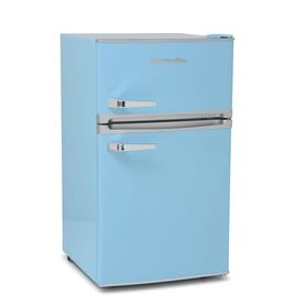 Montpellier Retro MAB2035PB Undercounter Fridge Freezer - Pastel Blue Reviews