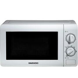 Daewoo SDA2075GE Solo Microwave - White Reviews