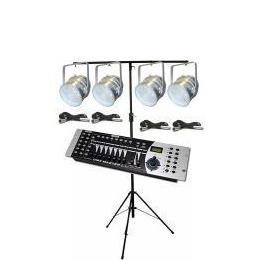LED Par56 DMX Lighting Kit (Silver) Reviews