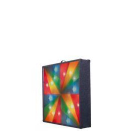 Multi Rainbow Cross Carpet Covered Light Screen With 4 Channels And Carry Handle Reviews