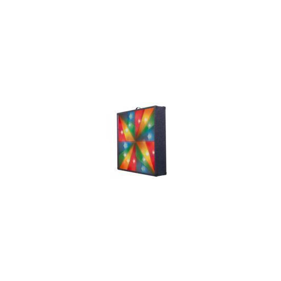 Multi Rainbow Cross Carpet Covered Light Screen With 4 Channels And Carry Handle
