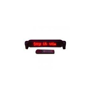 Photo of Red Portable Moving Message Machine Lighting