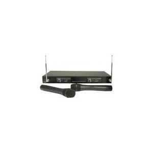 Photo of Skytec 2 CH VHF Handheld Radio Mic System Microphone