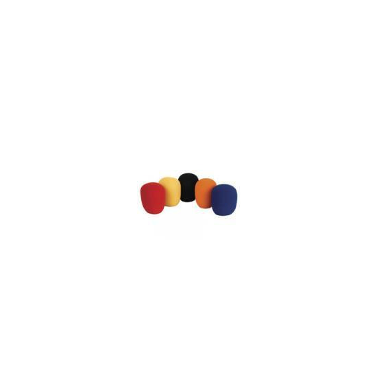 Microphone windshields - set of 5 colours