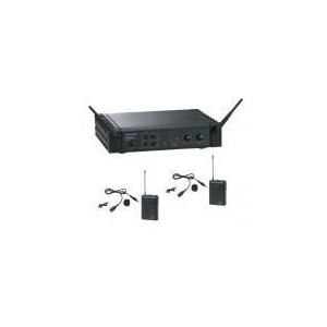 Photo of Gemini UF2064 Dual Lapel Radio Microphone System Microphone