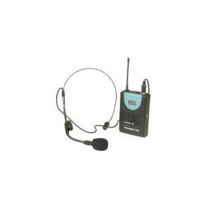 Photo of Citronic UHF Wireless Transmitter With Headset Microphone Receiver